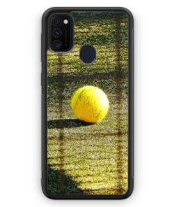 Samsung Galaxy M30s Silikon Hülle - Tennis