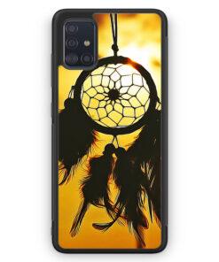 Samsung Galaxy A51 Silikon Hülle - Traumfänger Sonnenuntergang