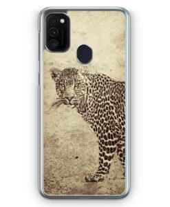 Samsung Galaxy M21 Hülle - Vintage Leopard