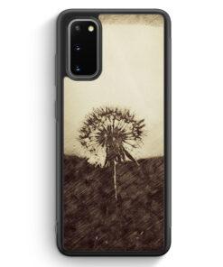 Samsung Galaxy S20 FE Silikon Hülle - Vintage Pusteblume
