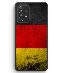Deutschland Splash Flagge - Silikon Hülle für Samsung Galaxy A52