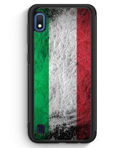 Samsung Galaxy A10 Silikon Hülle - Italien Splash Flagge Italia Italy