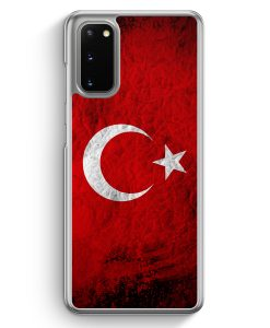 Samsung Galaxy S20 Hülle - Türkei Splash Flagge Türkiye Turkey
