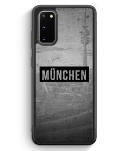 Samsung Galaxy S20 FE Silikon Hülle - SW München