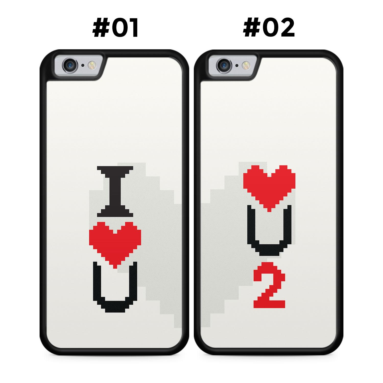 Partner Handyhüllen: I Love U - Love U 2 |Gaming Liebe - Silikon