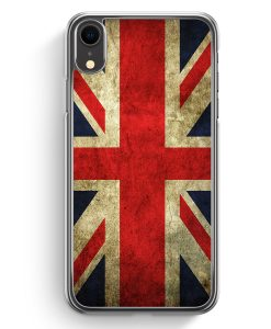 iPhone XR Hardcase Hülle - Großbritannien Great Britain Union Jack