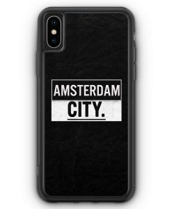 iPhone XS Max Silikon Hülle - Amsterdam CITY