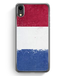 iPhone XR Hardcase Hülle - Niederlande Holland Grunge Netherlands