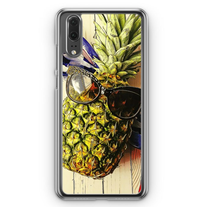 Huawei P20 Hülle Hardcase - Coole Ananas