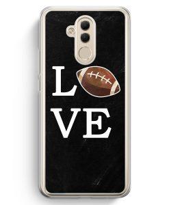 Huawei Mate 20 Lite Hardcase Hülle - Love American Football