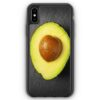 iPhone XS Max Silikon Hülle - Avocado Foto