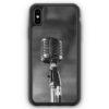 iPhone XS Max Silikon Hülle - Mikrofon Foto