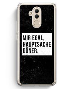 Huawei Mate 20 Lite Hardcase Hülle - Mir Egal Hauptsache Döner