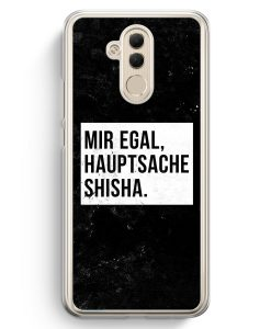 Huawei Mate 20 Lite Hardcase Hülle - Mir Egal Hauptsache Shisha