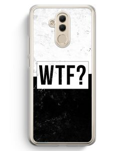 Huawei Mate 20 Lite Hardcase Hülle - WTF?
