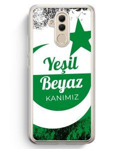Huawei Mate 20 Lite Hardcase Hülle - Yesil Beyaz Kanimiz Türkei Türkiye