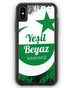 iPhone XS Max Silikon Hülle - Yesil Beyaz Kanimiz Türkei Türkiye