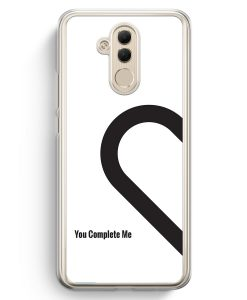 Huawei Mate 20 Lite Hardcase Hülle - You Complete Me #01